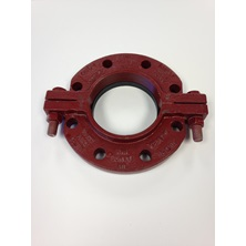"900C 10"" Uni Flange For Pvc Pipe"